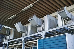 空調機器・ダクト設置工事